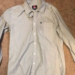 Quicksilver Button Up